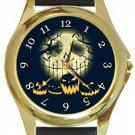 Halloween Night Gold Metal Watch