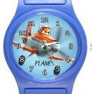 Planes Blue Plastic Watch