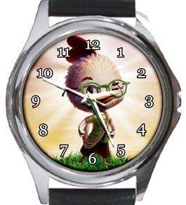 Chicken Little Round Metal Watch