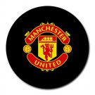 Manchester United FC Heat-Resistant Round Mousepad