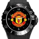 Manchester United FC Plastic Sport Watch In Black