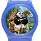 Kung Fu Panda and Masters Blue Plastic Watch