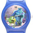 Monsters Inc Sulley and Mike Blue Plastic Watch