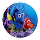Finding Nemo and Dory Heat-Resistant Round Mousepad