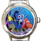 Finding Nemo and Dory Round Italian Charm Watch