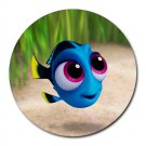 Finding Baby Dory Heat-Resistant Round Mousepad