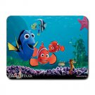 Cute Finding Nemo and Dory Heat-Resistant Mousepad