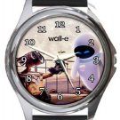Walle and Eva Round Metal Watch