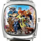 Zootopia Citizens Square Metal Watch