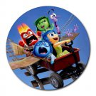 Inside Out Heat-Resistant Round Mousepad