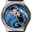 Twilight Edward and Bella Round Metal Watch