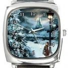 Chronicles of Narnia Square Metal Watch