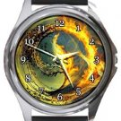 The Divergent Series Round Metal Watch
