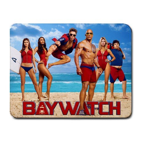 Baywatch Heat-Resistant Mousepad