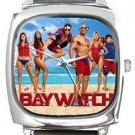 Baywatch Square Metal Watch