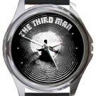 The Third Man Round Metal Watch