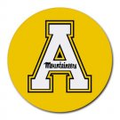 Appalachian State Mountaineers Heat-Resistant Round Mousepad