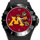 Minnesota Golden Gophers Plastic Sport Watch In Black