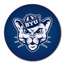 BYU Cougars Heat-Resistant Round Mousepad