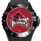 The University of Arkansas Razorbacks Plastic Sport Watch In Black