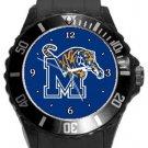 The University of Memphis Tigers Plastic Sport Watch In Black