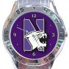 Northwestern Wildcats Analogue Watch