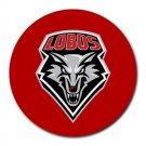 University of New Mexico Lobos Heat-Resistant Round Mousepad