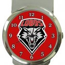 New Mexico Lobos Money Clip Watch