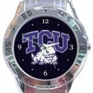 Texas Christian University TCU Horned Frogs Analogue Watch