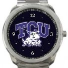 Texas Christian University TCU Horned Frogs Sport Metal Watch