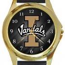 The University of Idaho Vandals Gold Metal Watch
