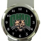 Ohio University Bobcats Money Clip Watch