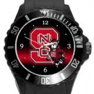 North Carolina State Wolfpack Plastic Sport Watch In Black