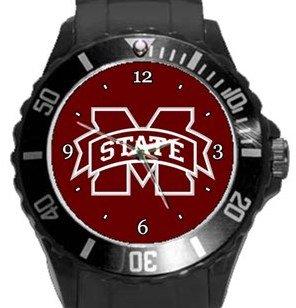 Mississippi State Bulldogs Plastic Sport Watch In Black