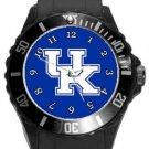The University of Kentucky Wildcats Plastic Sport Watch In Black