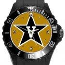 Vanderbilt University Commodores Plastic Sport Watch In Black
