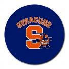 Syracuse University Orange Heat-Resistant Round Mousepad
