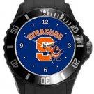 Syracuse University Orange Plastic Sport Watch In Black