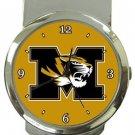 Missouri Tigers Money Clip Watch