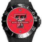 Texas Tech Red Raiders Plastic Sport Watch In Black