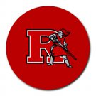 Rutgers Scarlet Knights Heat-Resistant Round Mousepad