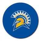 San Jose State Spartans Heat-Resistant Round Mousepad