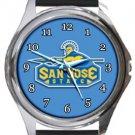 San Jose State University Spartans Round Metal Watch