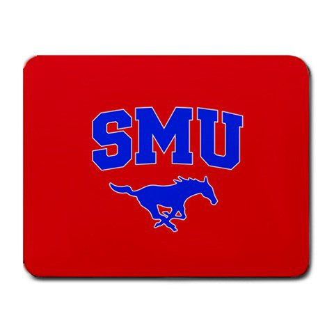 Southern Methodist University SMU Mustangs Heat-Resistant Mousepad