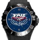 Florida Atlantic University Owls Plastic Sport Watch In Black