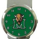 Marshall University Thundering Herd Money Clip Watch