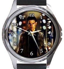 Tom Cruise Jack Reacher Round Metal Watch