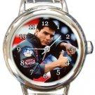 Tom Cruise Top Gun Round Italian Charm Watch