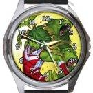 Beast Boy Round Metal Watch