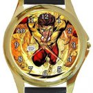 The Flash Barry Allen Gold Metal Watch